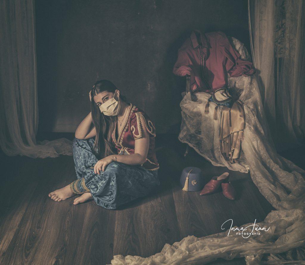 Inma Juan fotografías de Moros y Cristianos. Proyectos artísticos